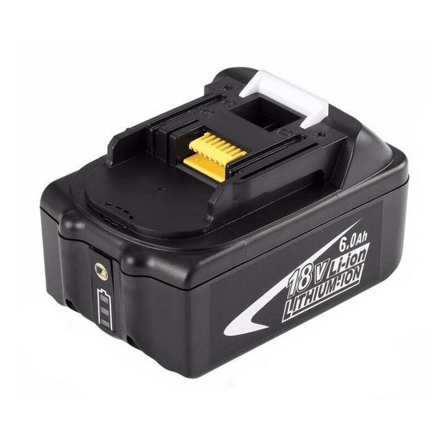 Znter New Portable 18V Rechargeable Battery 6AH 6000mAh Li-Ion Battery Replacement Power Tool Battery for MAKITA BL1860