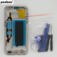 Panbon Genuine Housing Case Chassis Replacement Parts For Samsung Galaxy S7 G930 G930F Middle Frame Bezel