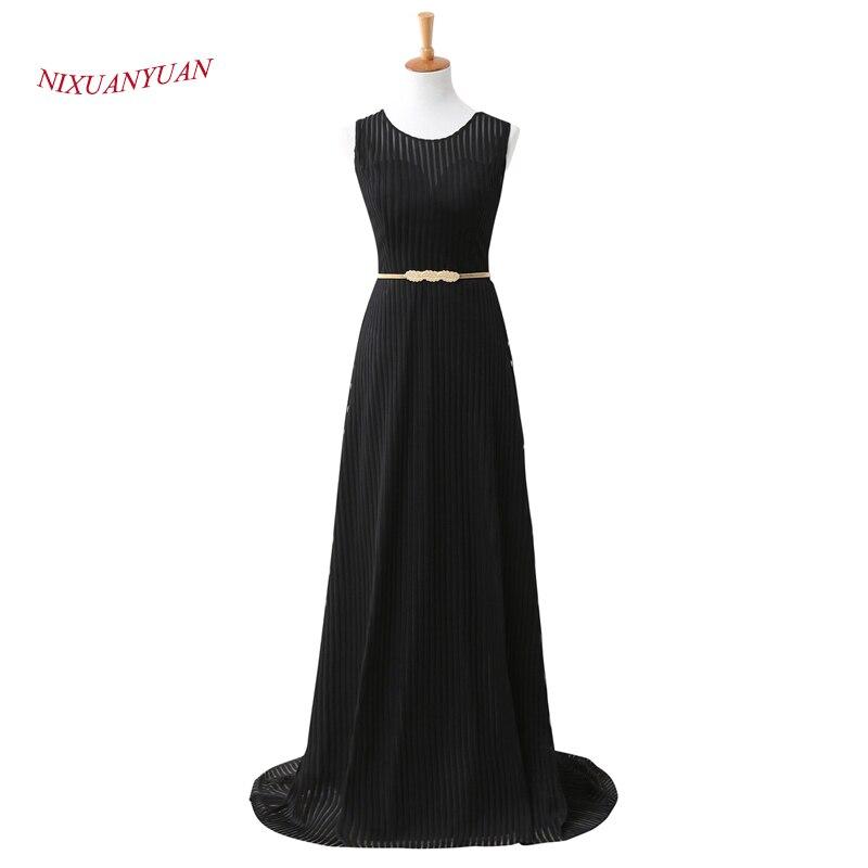2017 nouvelle élégante robe de soirée en velours noir 2017 longues robes formelles une ligne mère robes avec Train pas cher vestidos de noite
