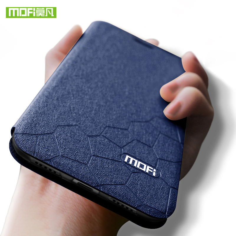 For xiaomi 9 case cover Mofi se Silicone mi SE Flip Leather mi9 TPU Funda