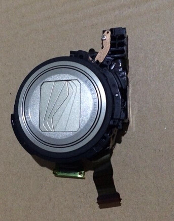 ФОТО Free Shipping !!Digital Camera Repair Replacement Parts SX600 lens group + CCD sensor for Canon Silver
