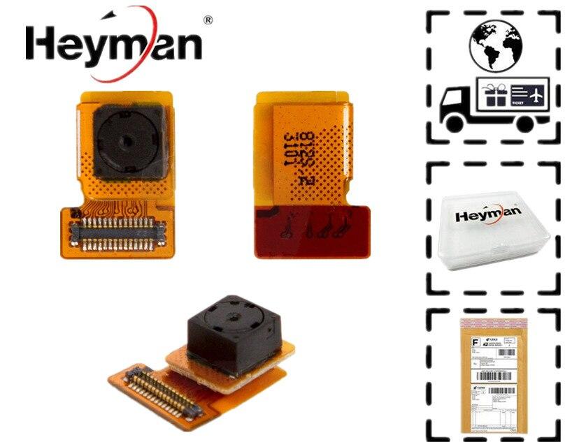 Heyman Módulo Da Câmera para Sony Xperia Z L36h C6603 C6602 L36i L36a C6606 frente Da Câmera módulo de Substituição do cabo flat partes