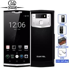 """D'origine Oukitel K10000 PRO 10000 mAh Batterie mobile téléphone MTK6750T Octa Core 5.5 """"Android 7.0 3 GB RAM D'empreintes Digitales ID 4G téléphones"""