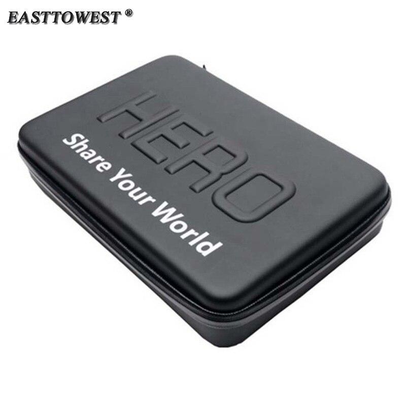 Easttowest Go Pro Hero Carry Bag Protective Storage Case for Go Pro Hero 6 5 4 3 Xiaomi Yi Sjcam Sj4000 Sj5000 Action Camera