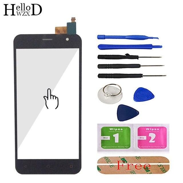 โทรศัพท์มือถือ 5 กระจกด้านหน้าสำหรับ Prestigio Muze B3 PSP3512 DUO PSP 3512 Touch Screen Glass Digitizer แผงเลนส์ SENSOR เครื่องมือกาว