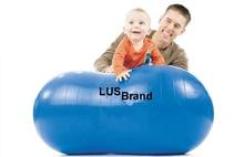 Children Anti Burst Yoga Ball Peanut Shape Fitness Exercise Health Sports Gym Colorful 45 90 Durable