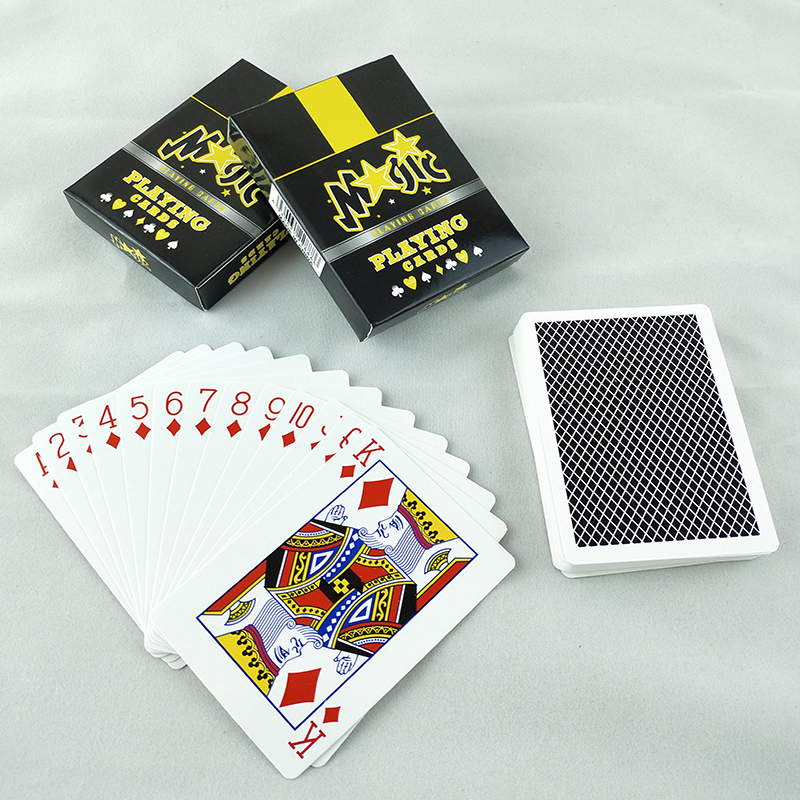Ultra thin playing card set fashion 54. Deck poker classic magic tool magic poker image