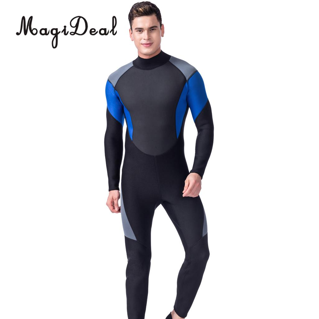 Мужские 3 мм неопрена Полный Средства ухода за кожей Мокрые одежды спорта людей погружения скины Перейти подводное плавание Сёрфинг зима мо... ...