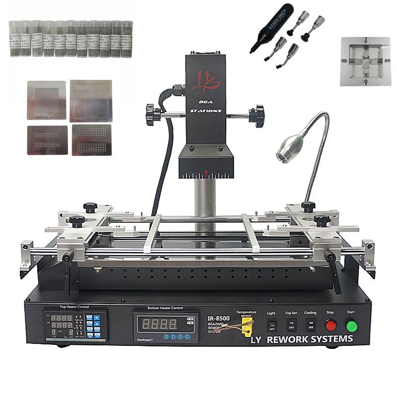 LY IR8500 infrarouge BGA Station de Reprise pour mère d'ordinateur portable reparing, chauffage taille IR8500 plus grand chauffage taille IR6500 avec cadeau
