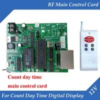 LED Digital Number RF Control Main Control Card 12V Use for Count Day Time Digital Number LED Display