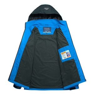 Image 4 - Mountainskin 5XL 男性のジャケット防水春フード付きコート男性女性アウターアーミー固体カジュアルブランド男性服、 SA153