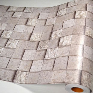 Pareti del bagno PVC mosaico carta da parati carte da cucina adesivi ...