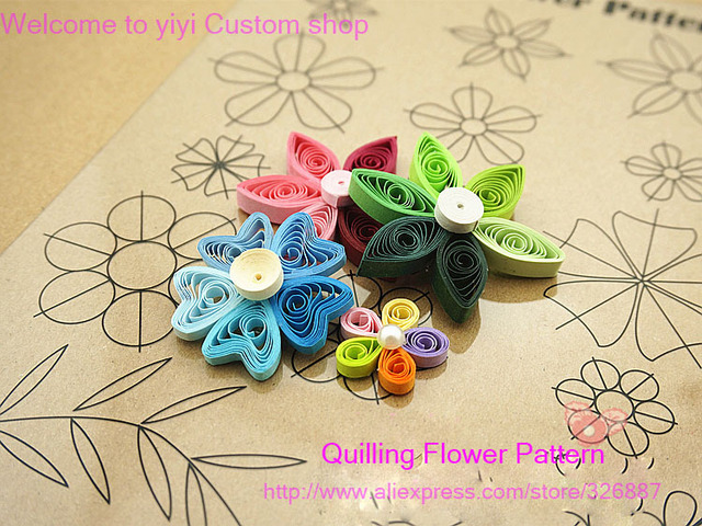 diy scrapbooking paper quilling toolsstripperco ordinate14 quilling flower parttern