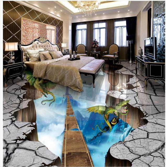3d Wandbilder Wallpaper Boden Leiter 3d Boden Tapeten Pvc