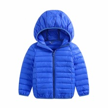 ultra-light warm duck down jacket coat for boys&girls clothes in autumn winter for kids children's colthing baby free shipping