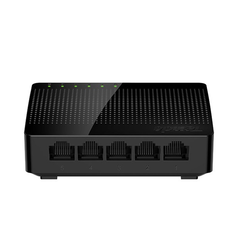 Tenda Commutateur Gigabit SG105 Réseau 5 Port Gigabit 10/100/1000 Mbps Fast Ethernet Commutateur Lan Hub Plein/Half duplex Échange-1