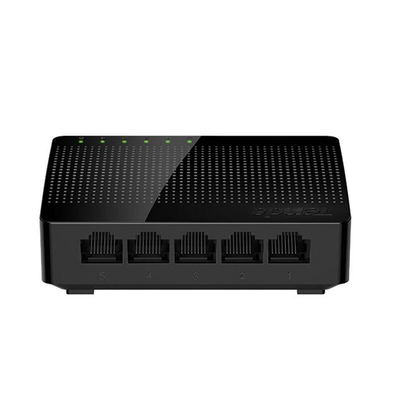 Tenda Gigabit Switch SG105 сетевой 5 портовый гигабитный 10/100/1000 Мбит/с быстрый Ethernet коммутатор Lan Hub полный/полудуплексный обмен 1 gigabit switch 10/100/1000mbps gigabit switch5 port gigabit switch   АлиЭкспресс