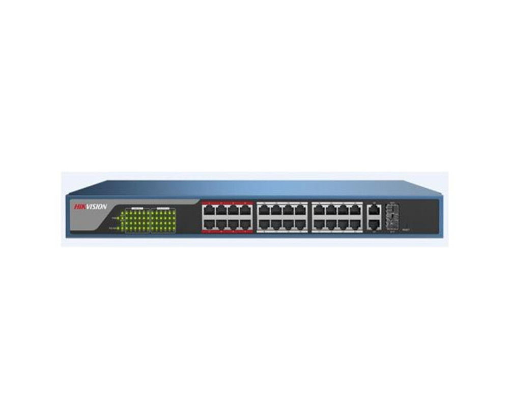 Image 3 - Hikvison 4 Port 8 Port 16 Port 24 Port PoE Switch DS 3E0105P E DS 3E0109P E DS 3E0318P E DS 3E0326P E 250m Transmission distance-in Transmission & Cables from Security & Protection