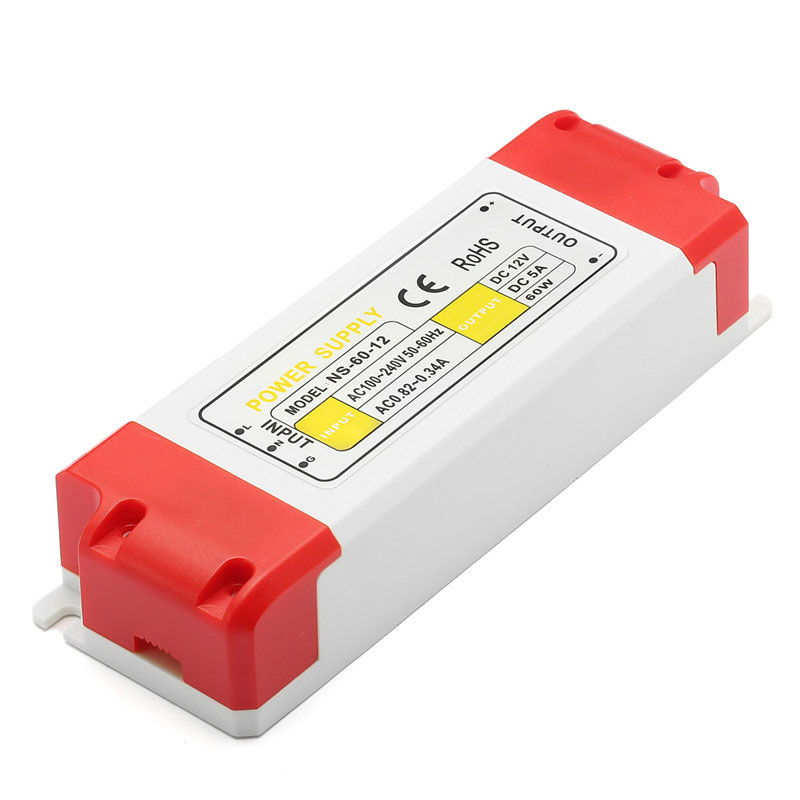 цена на LED Driver 12/24/36/48/60W AC100-240V To DC 12V LED Driver Power Supply Adapter Transformer For LED Strip Light Bulbs