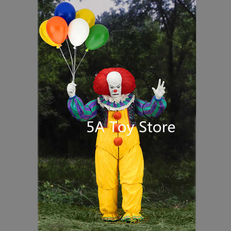 Neca Toys Figure le film IT Pennywise 1990 Stephen King's It Clown modèle Collection décor pour Halloween décoration Horro cadeau