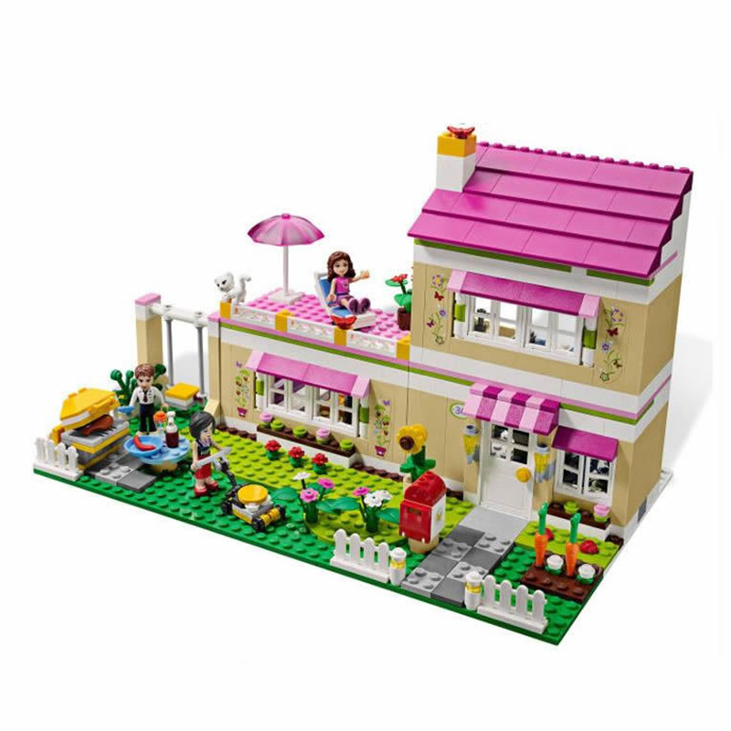 Bela 10164 Compatable With Legoingly Friends Olivia's House Building Bricks Blocks Toys For Children Girl Game Castle Gift 3315 dayan gem vi cube speed puzzle magic cubes educational game toys gift for children kids grownups