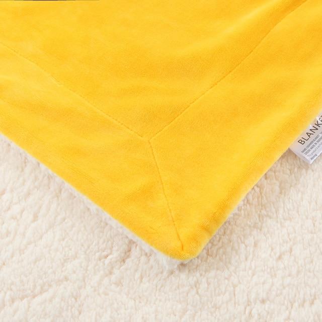 online shop 150x200cm 200x230cm soft berber fleece blanket for bed
