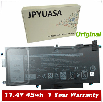 7XINbox 11.4V 45wh Original 71TG4 Laptop Battery For Dell 71TG4 Series Tablet