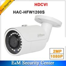 Venta al por mayor, versión en inglés, 2MP, 1080P, HDCVI, HAC HFW1200S, IR, cámara de bala, DH HAC HFW1200S inteligente