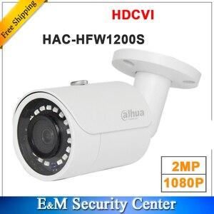 Image 1 - Wholesale english version dahua 2MP 1080P HDCVI HAC HFW1200S IR bullet Camera Smart DH HAC HFW1200S