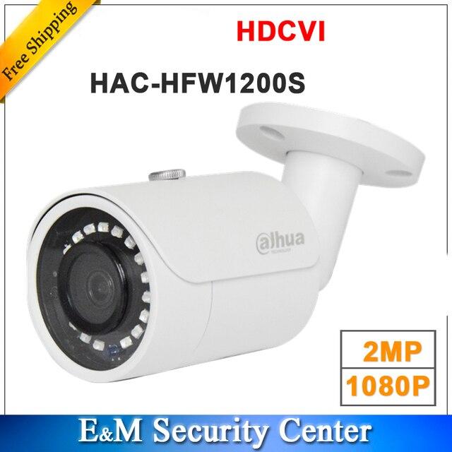 סיטונאי אנגלית גרסה dahua 2MP 1080P HDCVI HAC HFW1200S IR bullet מצלמה חכם DH HAC HFW1200S