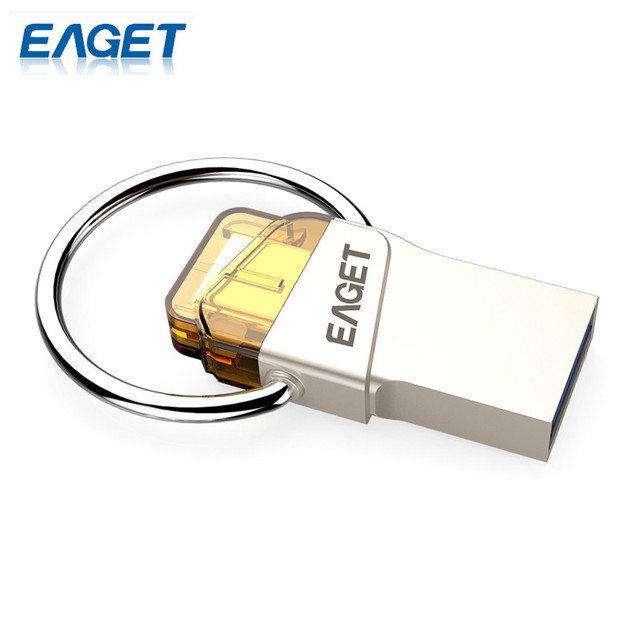 Eaget original cu66 tipo-c usb flash drive 64 gb pendrive mini almacenamiento para el Teléfono Inteligente Para PC Para Macbook Stick U Disco De Almacenamiento