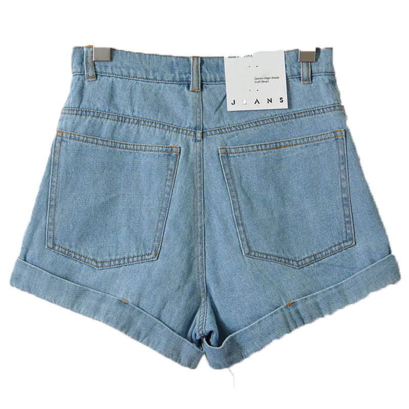 Aliexpress.com : Buy High Waisted Denim Shorts 2016 New Fashion ...