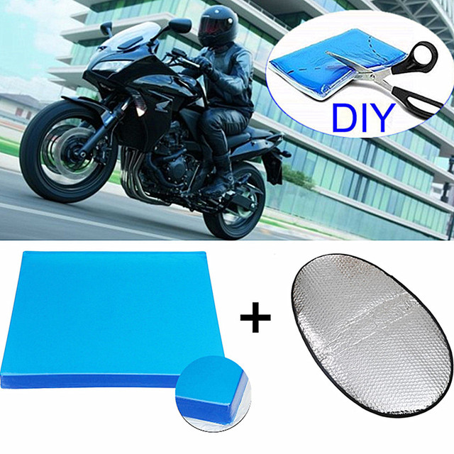 diy motorcycle seat cushion
