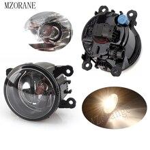 цена на MZORANGE 2pcs Fog Light Fog Lamp for Ford Focus MK2/3 Fusion Fiesta Tourneo Transit 2001-2015 Halogen Fog Lights Super Bright