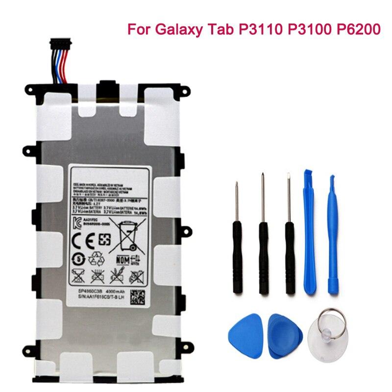 Angemessen Sp4960c3b Batterie Für Samsung Galaxy Tab 2 7,0 & 7,0 Plus Gt-p3100 P3100 P3110 P6200 Tablet Eingebaute Batterien Ersatz Ungleiche Leistung Tablet-zubehör