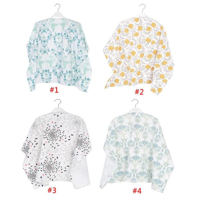 Cotton Cloth Breastfeeding Cover Infant Breathable Baby Nursing Cover Blanket Outdoor Baby Feeding Cover Nursing Cloth