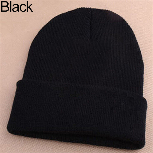 Tales From The Crypt Skullies Unisex Winter Hat Embroidery Knitted Beanie Cap