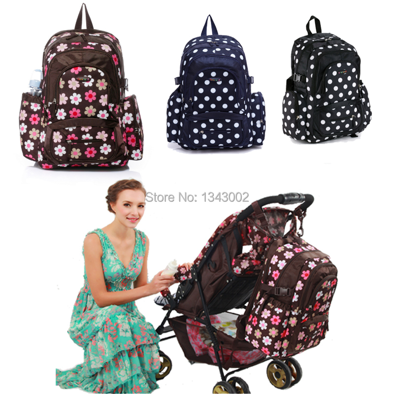 Colorland super large capacity multifunctional backpack nappy bag baby diaper bags changing mat mommy bag babies