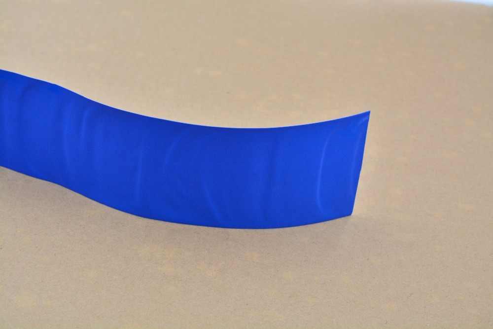 Ширина сглаживания 72 мм толщина 0,07 прозрачный цвет: черный, синий белый много цвет ПВХ термоусадочные трубки картридж батарея коры 1 шт
