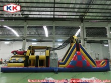 New design style inflatable bouncer giant inflatable obstacle course inflatable slide for sales for outside