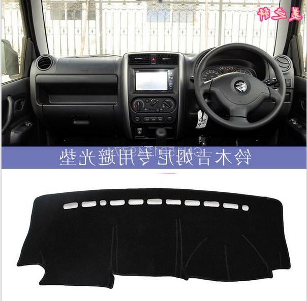 new product a275b ea959 US $35.0 |Suzuki JIMNY Auto Swift console control dashboard shading anti  reflective dashboard covers for right hand drive RHD-in Automobiles Seat ...