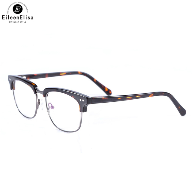 EE 2017 Hot Sale Vintage Acetate Glasses Frames Men Brand Designer ...