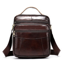 Men Messenger Bag Genuine Cow Leather Male Small Man Crossbody Shoulder Bags Travel New Handbags