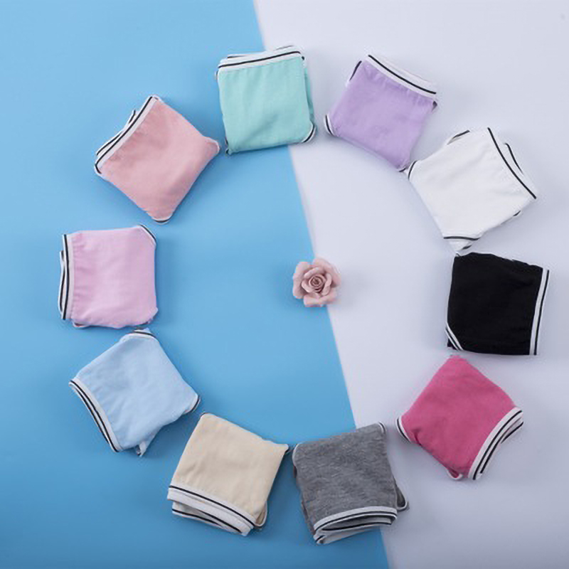 New Briefs Underwear Women Panties Solid Colors Seamless Comfortable Cotton Panties Briefs Waist Panties for Women Panties in women 39 s panties from Underwear amp Sleepwears