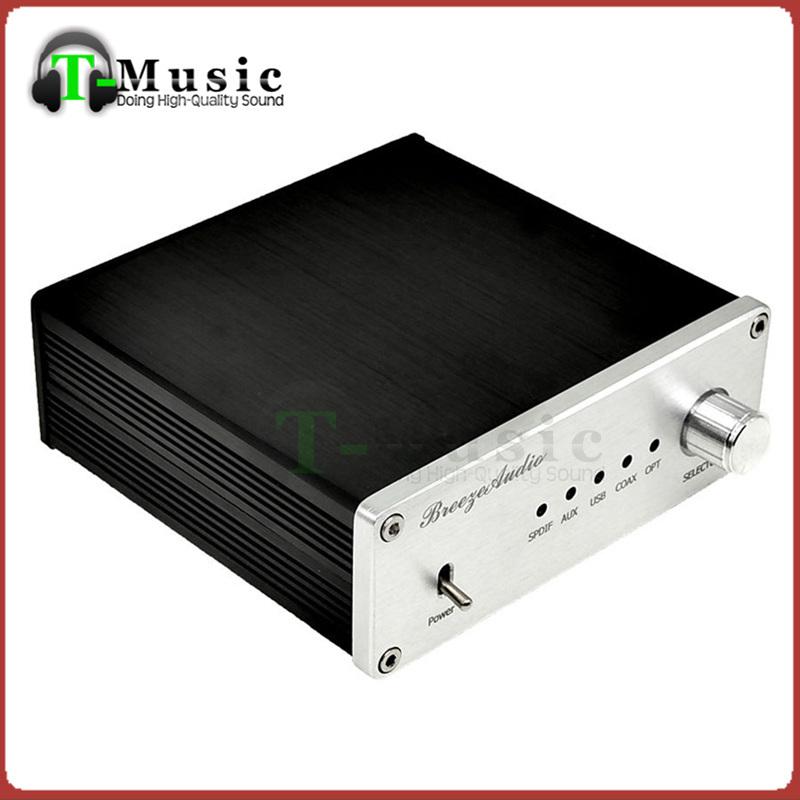 Prix pour Recommander-TOP Audio DAC AK4490 + AK4118 + XMOS USB DAC décodeur Soutien Coaxial/Optique/USB Entrée W/DC12V alimentation