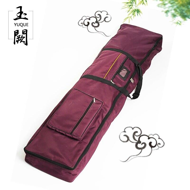"Yuque אוקספורד Guzheng מגן מקרה Carring רך/תיק נסיעות נייד תיק Case כיסוי עבור Guzheng עם 1 ""ריפוד עבה"