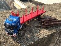 Kdw kids toys 1:50 liga de metal modelo de carro caminhão veículo de transporte de materiais de madeira belas trabalho criança o melhor presente