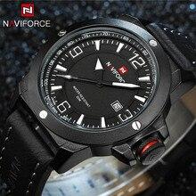 Топ Элитный бренд naviforce мужские спортивные часы мужские кварцевые аналоговые мужской часы человек военный Водонепроницаемый наручные часы Relogio Masculino