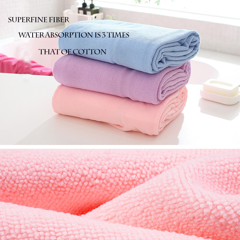 2017 Fashion Spa Wrap Microfiber Fabric Cooling Towel Solid Bath Towel  Bathrobe Gown for Adult Beach Towel Variety Dressing-in Bath Towels from  Home ... 703447537