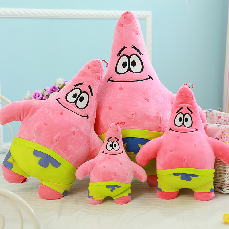 Anime Stuffed Toys 20/25/35/45cm Winx Plush Doll Patrick Star 100% PP Cotton Soft Pillow Gifts for the New Year Birthday Gift 38cm plush whales toys with soft pp cotton creative stuffed animal dolls cute whales toys fish birthday gift for children